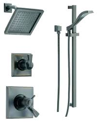 delta oil rubbed bronze shower head handheld combo rain with home design plan faucet