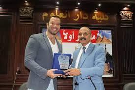 جامعة القاهرة تُكرم الإعلامي تامر شلتوت (صور)
