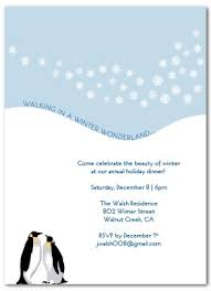 Template For Christmas Party Invitation Printable Penguin Holiday Party Invitation Template