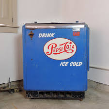 Pepsi Cola Vending Machines Old Impressive 48s Vintage PepsiCola Vending Machine Cooler EBTH
