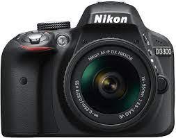 Nikon D3300 SLR-Digitalkamera Kit AF-P 18-55 VR schwarz: Amazon.de: Kamera