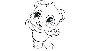 Baby Panda Coloring Pictures Baby Panda At School Coloring Page Baby