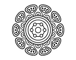 Disegno Di Mandala Crescita Vegetale Da Colorare Acolorecom