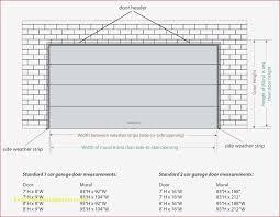 size of garage door collection in industrial garage door dimensions with garage door sizes full image