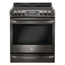 lg electronics 6 3 cu ft slide in electric range with probake convection oven