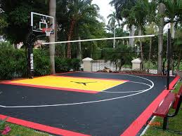 architecture outdoor basketball court stylish flooring at rs 130 per sqft jhotwara within 6 from