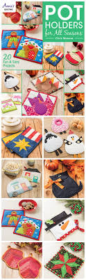 Best 25+ Quilted potholders ideas on Pinterest | Quilting ... & 20 gorgeous seasonal quilted potholder patterns to sew. Adamdwight.com