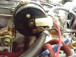 choke wiring for edelbrock carbs Electric Choke Wiring Diagram then i connected the other end of the wire to the \