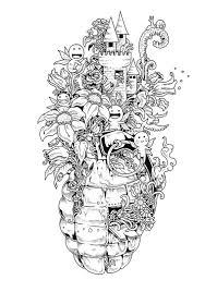 Small Picture Doodle Invasion Un nouveau livre de coloriage pour les adultes
