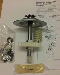 41c4220a compatible chamberlain craftsman liftmaster garage door opener gear kit 843357001944