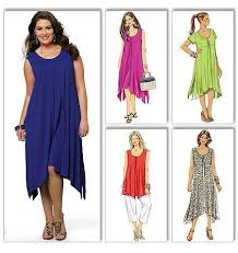 Plus Size Skirt Patterns Interesting Butterick Pattern B48 Women's Top Dress Pants Very Easy