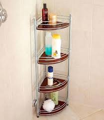 floor shower caddy stainless steel organizer practical gadget for your shower