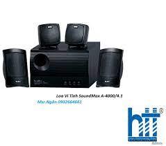 Loa Vi Tính SoundMax A 4000/4.1 - Hàng Chính Hãng