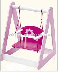 Latest 13 18 Inch Wooden Swing Baby Doll Furniture Buy Baby Doll