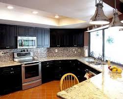 Coolest Dark Kitchen Cabinets With Light Granite About Home Decor Interior  Design With Dark Kitchen Cabinets With Light Granite