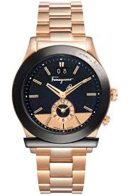 news central ferragamo to launch retailer network for watch division ferragamo mens f62ldt5219 s080 1898 collection dual time black and gold watch