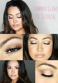 summer glam eye tutorial for daytime