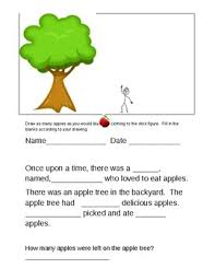 Apples: telling a story by Ada Cortez | Teachers Pay Teachers