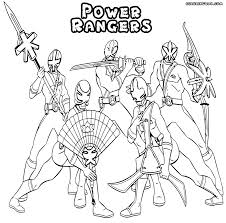 Coloring Pages Free Printable Power Rangers Coloring Sheets Spd
