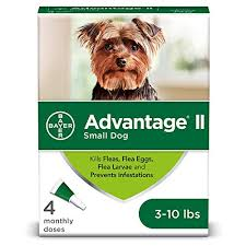 Flea And Lice Treatment For Dogs 3 10 Lb 4 Doses