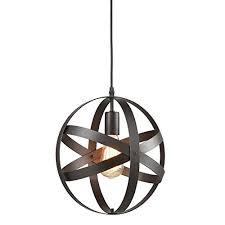 industrial look lighting fixtures. truelite industrial metal spherical pendant displays changeable hanging lighting fixture look fixtures