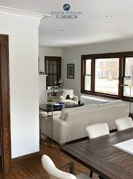 best paint colours dark wood trim similar to benjamin moore white dove of dove wing