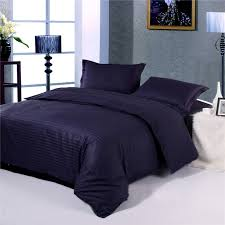 satin stripe duvet cover hotel bedding company china supplier