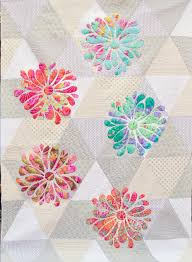 My Flower Bloom applique quilt pattern at Passionately Sewn ... & Passionately Sewn By Janeene Scott - My Flower Bloom Quilt Kit Adamdwight.com