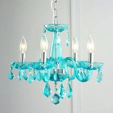 colored crystal chandelier luxurious large