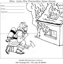 Small Picture Download Coloring Pages Fire Safety Coloring Pages Fire Safety