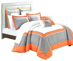 blue and grey comforter sets interior orange bedding sets and covers orange and grey comforter sets