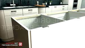 countertop overhang support brackets granite overhang support granite counter supports