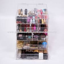 china acrylic makeup box customized design