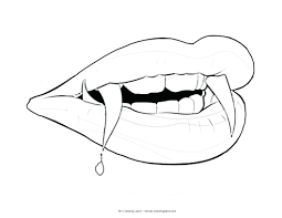 Small Picture Lips Coloring Page kiopadme