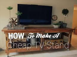 How To Make a Cheap TV Stand