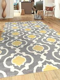 grey area rug yellow and gray target