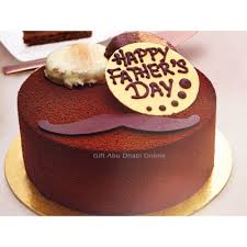 Father S Day Cake Design Happy Fathers Day Sponge Cake