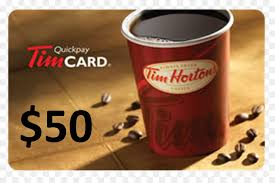 tim hortons gift card coffee canada coffee