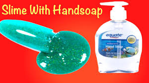 How To Make Color Glitter Hand Soap Slime!!DIY Slime Without Glue ...