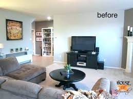 above decor wall beside home design decorating ideas tv behind stand 7 under