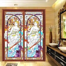 stained glass decals stained glass sticker for window static stained glass stickers window grilles painted stained glass decals stained glass window