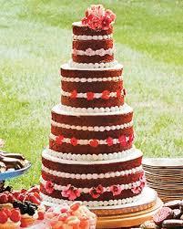 15 Red Velvet Wedding Cakes Confections Martha Stewart Weddings