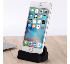 jmm charge sync lightning dock stand for apple iphones black