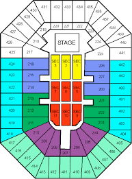 Bradley Center Seating For Concerts Bmo Harris Bradley