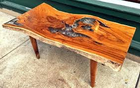 teak table top a rectangular coffee table made from reclaimed old growth teak tree slab and teak table top