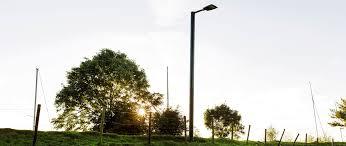 Eco City Solar Lights Solar Light Post Soluxio The Autonomous Solar Powered