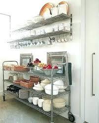 small wire shelves kitchen storage shelf ideas cabinet basket
