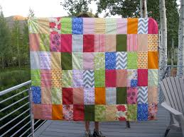 Completed Quilt: IKEA Floral Inspired Picnic Blanket | Lulu & I selected the colors based on an IKEA duvet ... Adamdwight.com