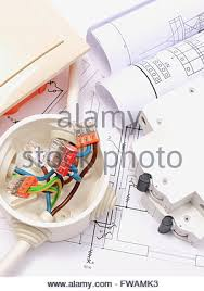 copper wire connections in electrical box rolls of electrical components for use in installations and electrical diagrams copper wire connections in electrical box