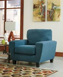 Teal Living Room Chair Sagen Chair From Signature Design By Ashley Furniture